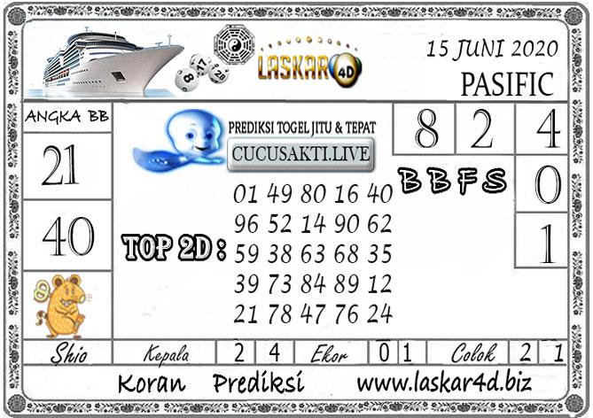 Prediksi Togel PASIFIC LASKAR4D 15 JUNI 2020