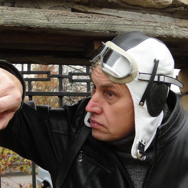 Летный шлем - персональный подарок мужчине, ручная работа. Размер на заказ. Доставка почта или курьер