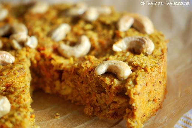 Patces Patisserie Apfel Ingwer Karottenkuchen Mit Cashewkernen
