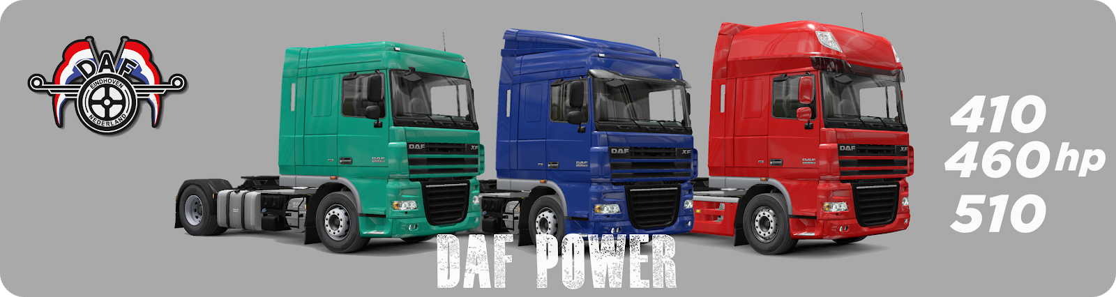 Engine Voice Records-Professional sound recording: DAF XF