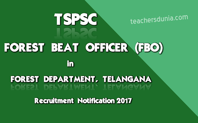 TSPSC-Forest-Beat-Officer-In-Forest-Department-Notification-2017