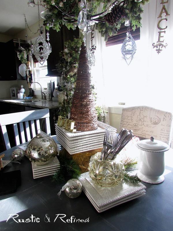 Kitchen Tour for Christmas
