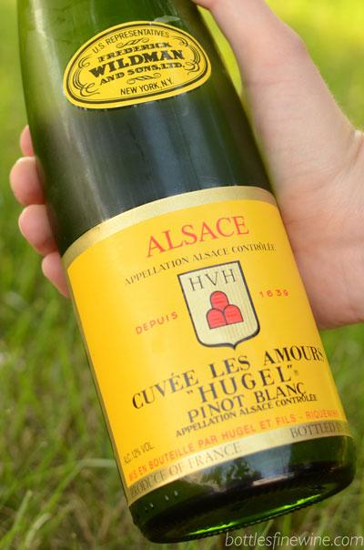 Hugel Pinot Blanc Food Pairing