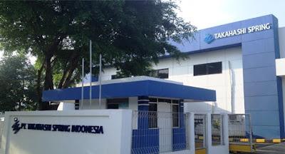 Lowongan Kerja Operator Warehouse Min SMA SMK D3 S1 PT Takahasi Spring Indonesia
