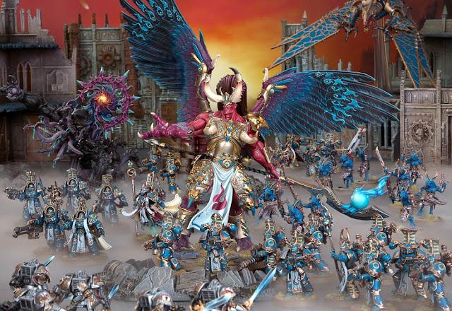 Magnus el Rojo y Mil Hijos