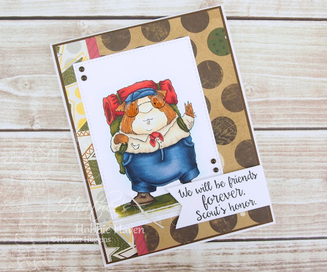 Heather's Hobbie Haven - Scout's Honor Card Kit