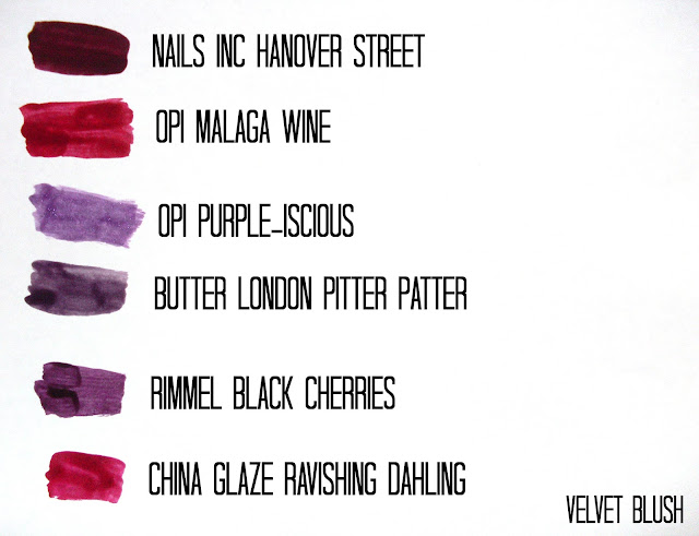 Winter Nail Polishes