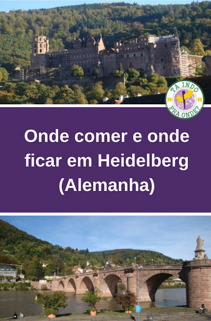Onde comer e onde ficar em Heidelberg (Alemanha)