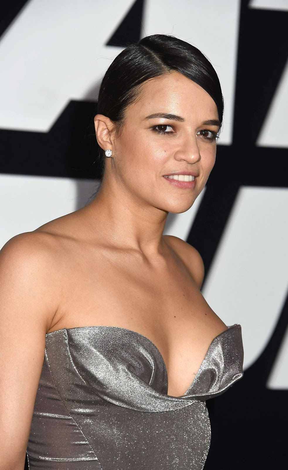 Michelle Rodriguez – 'The Fate of the Furious' Premiere in New York