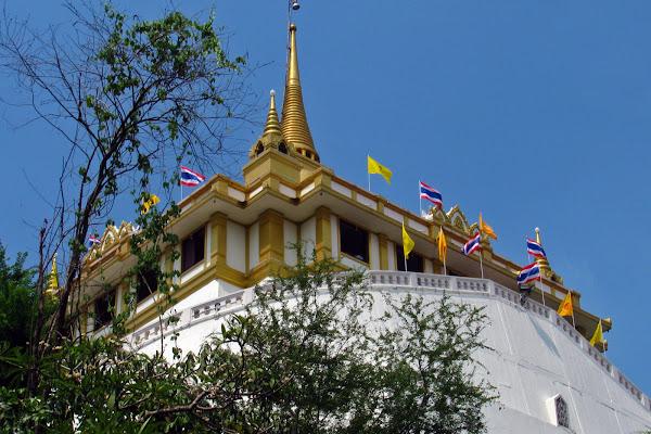 Templo de la Montaña dorada de Bangkok