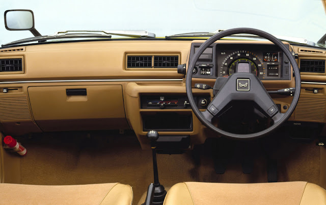 Honda Civic 2nd Generation Interior - Dashboard Photo