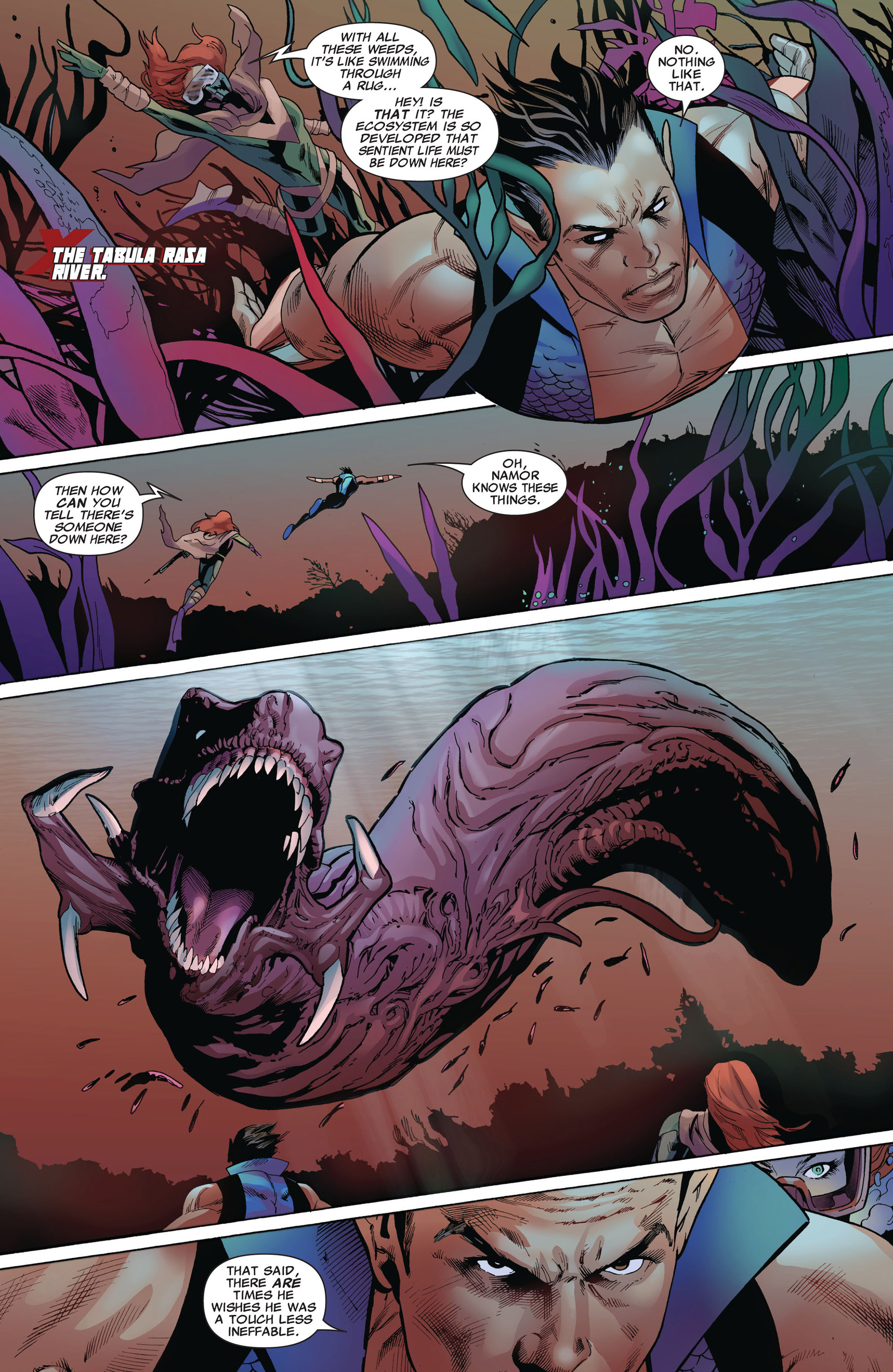 Read online Uncanny X-Men (2012) comic -  Issue #5 - 17