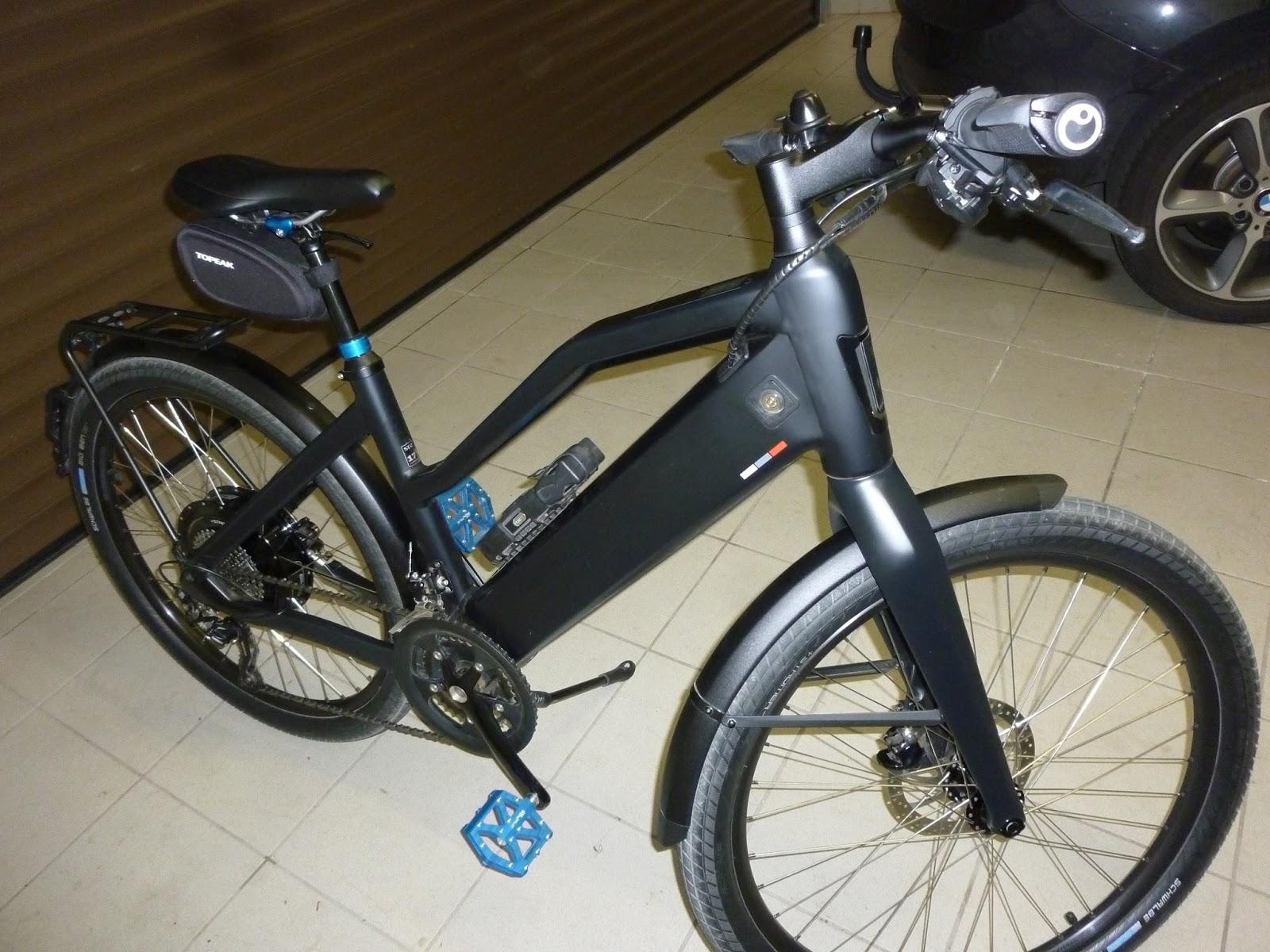 neuwertiger stromer st2 45 km h zu verkaufen eblog by e bike company mainz. Black Bedroom Furniture Sets. Home Design Ideas