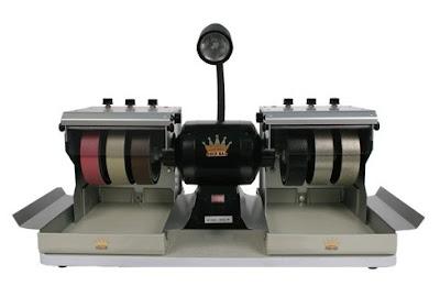 Maquinaria para hacer cabujones de minerales preciosos