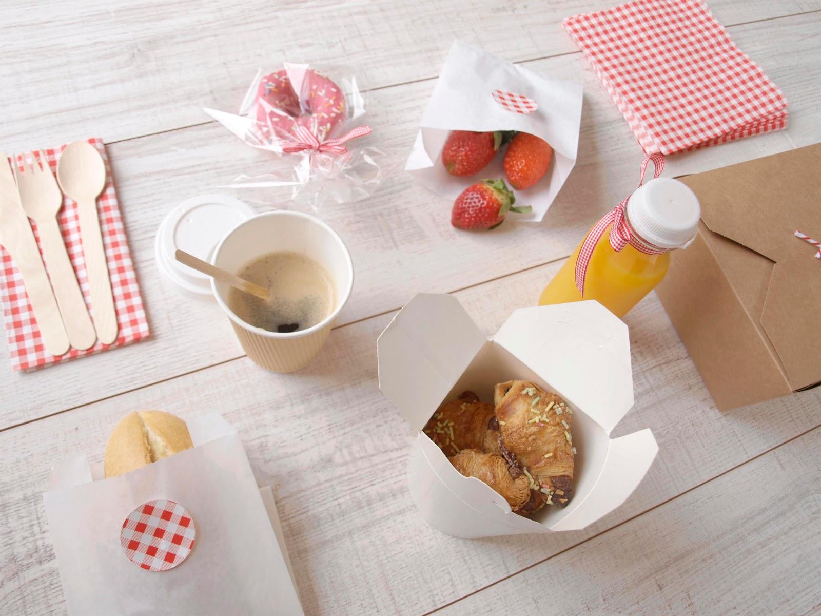 Kit de desayuno blog cocott - Preparar desayuno romantico ...