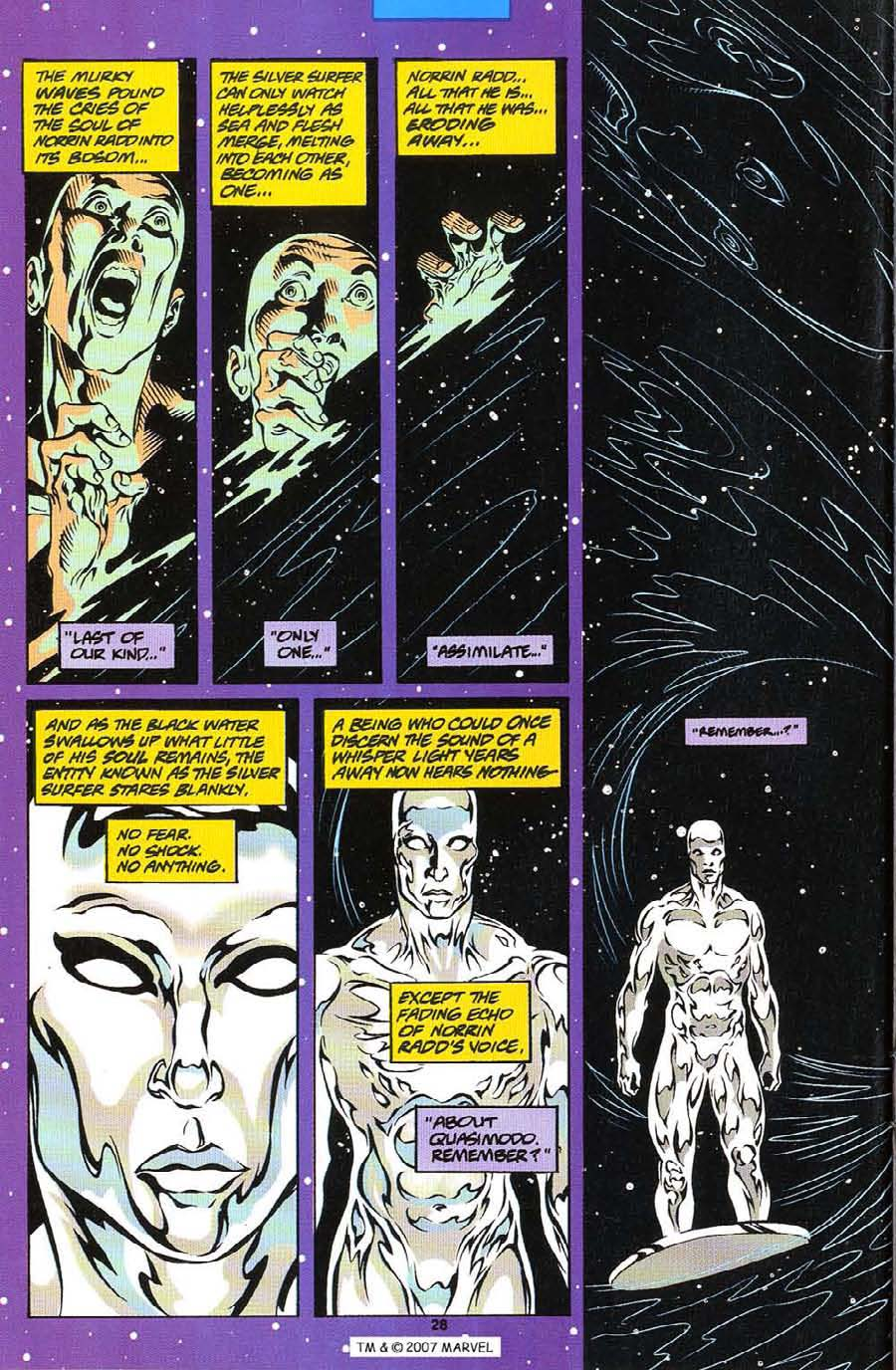Silver Surfer (1987) Issue #113 #121 - English 30