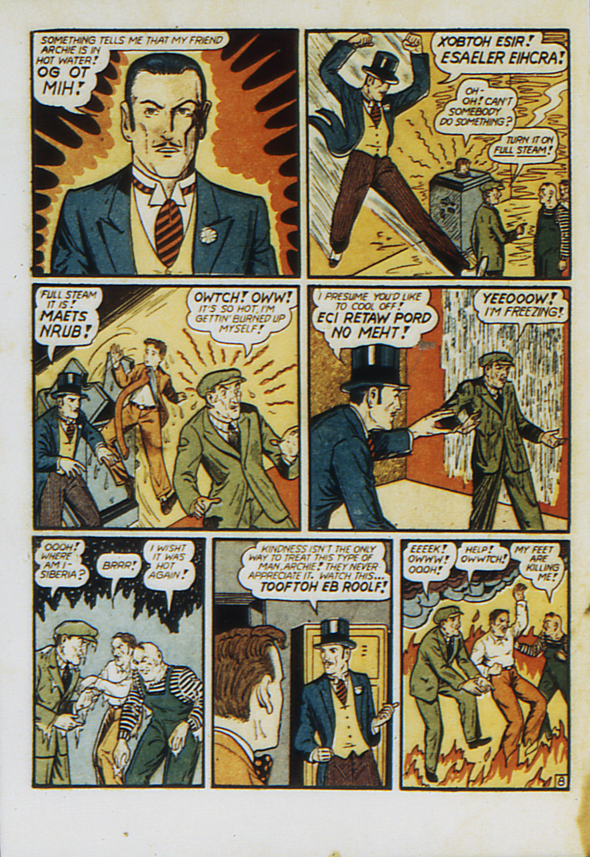 Read online Action Comics (1938) comic -  Issue #53 - 65