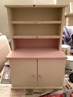 up-cycled apprentice dresser using You Can Folk It's Series 1 Starter kit