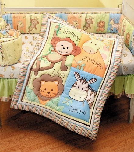 Cheap Crib Bedding Sets: Jungle Crib Bedding Sets (Under $100)