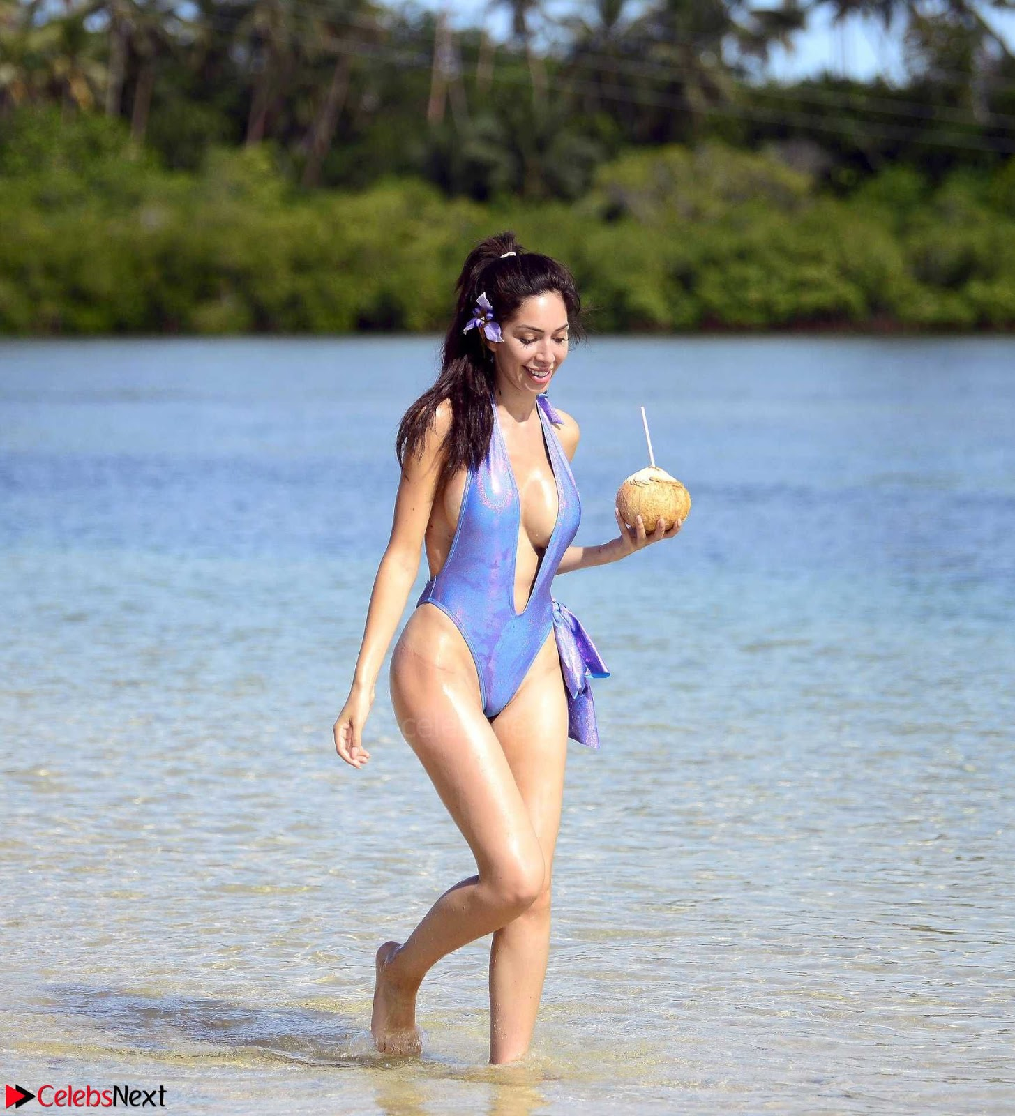Farrah Abraham Sexy ass huge Boobs in Sexy Wet Swimsuit ~ SexyCelebs.in Exclusive
