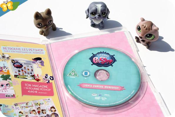 Littlest Pet Shop DVD - Lumières, caméra, mangouste !