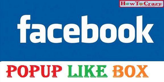 Facebook Popup Widget