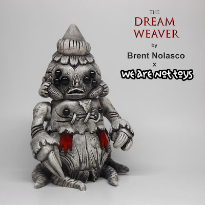 Designer Con 2016 Exclusive The Dream Weaver Resin Figure by Brent Nolasco x We Are Not Toys