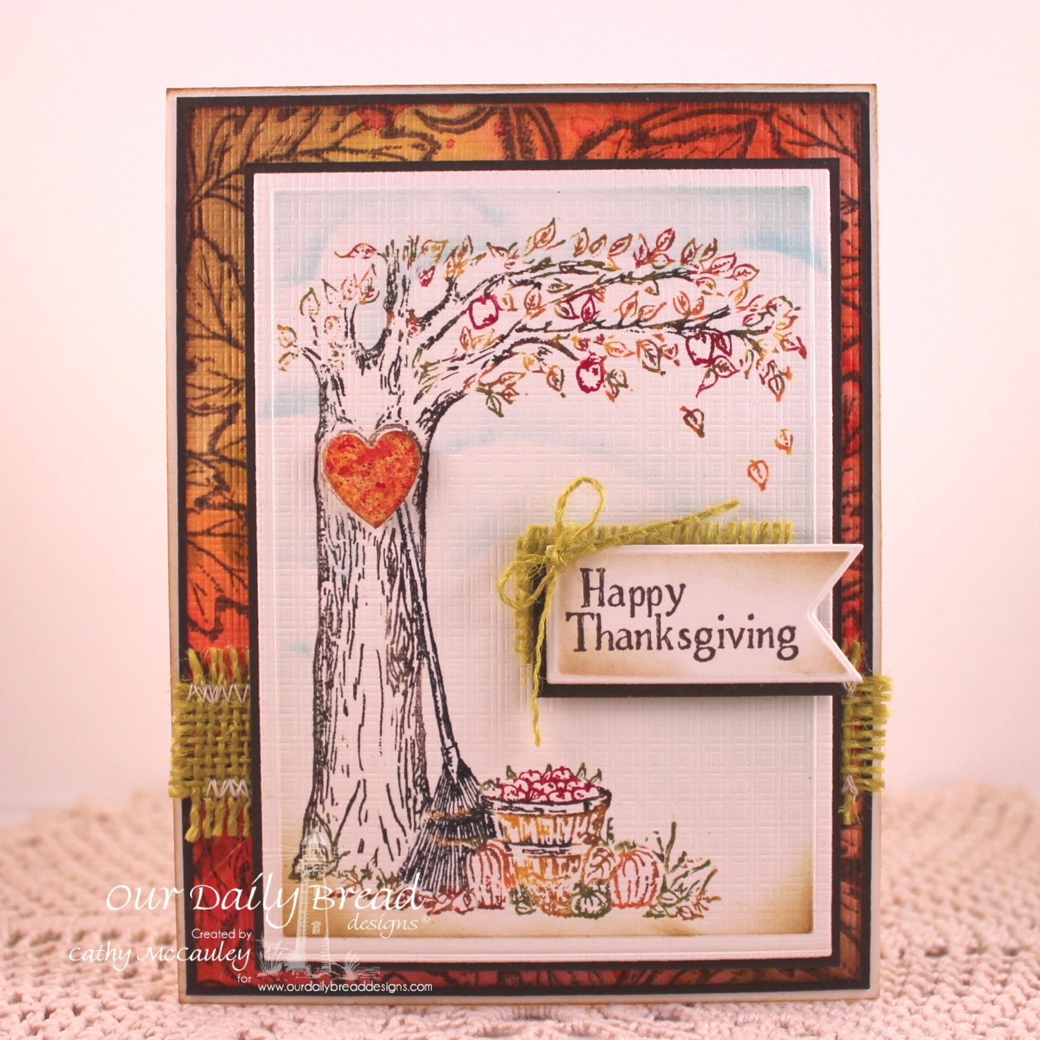 Stamps - Our Daily Bread Designs Autumn Tree, Autumn Blessings, ODBD Custom Pennants Dies
