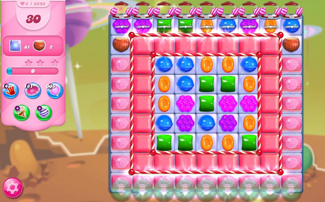 Candy Crush Saga level 6595