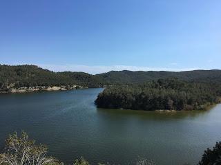 El Pantà de Foix des de Castellet