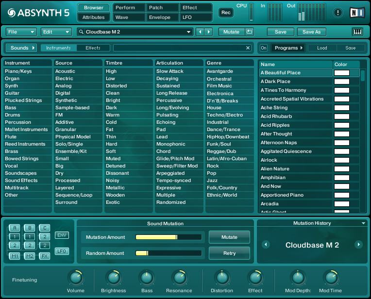 Native Instruments - Absynth 5 v5.1.0 Full version free download