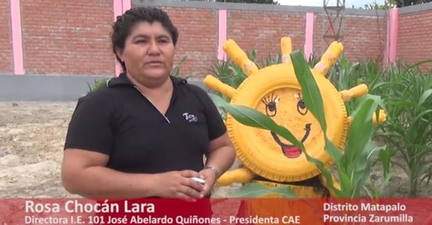 QALI WARMA: Escolares siembran vegetales que complementan su alimentación - www.qaliwarma.gob.pe