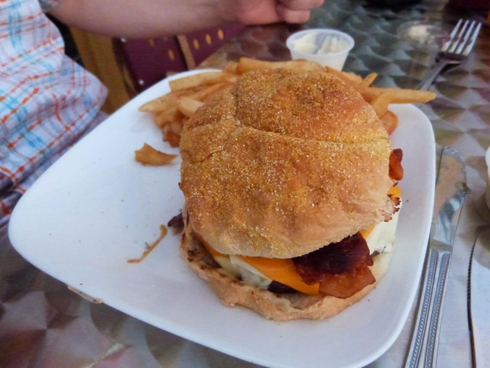 Formaggio Burger