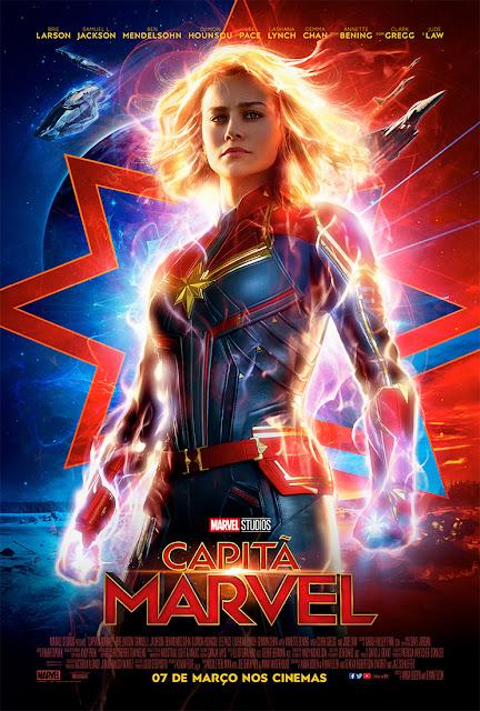 Capitã Marvel ganha novo trailer e pôster