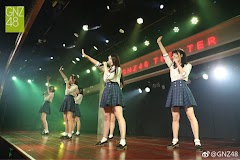 4th Generation Members of GNZ48 Introduced during theater
