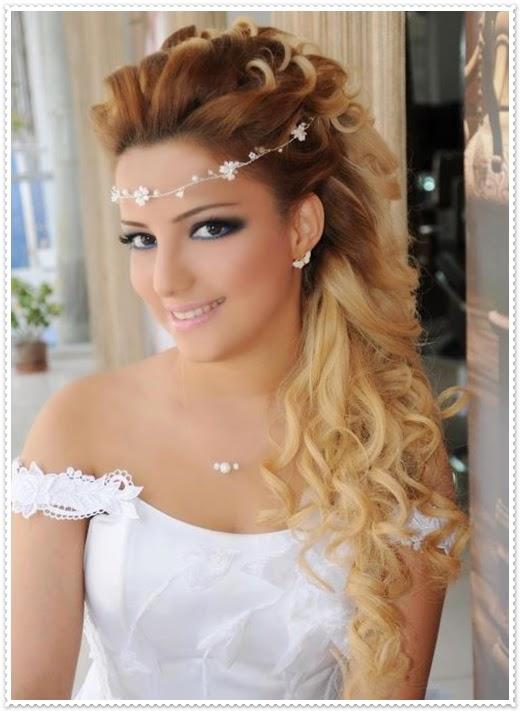2014 Neue Zauberhafte Brautfrisuren Für Lange Haare