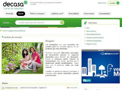 Jardines de Ensueño – Canal Decasa TV