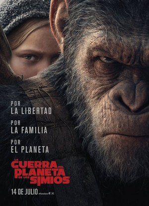 Poster War for the Planet of the Apes 2017