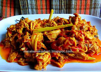 Cara Membuat Ayam Suwir Resep Prasmanan