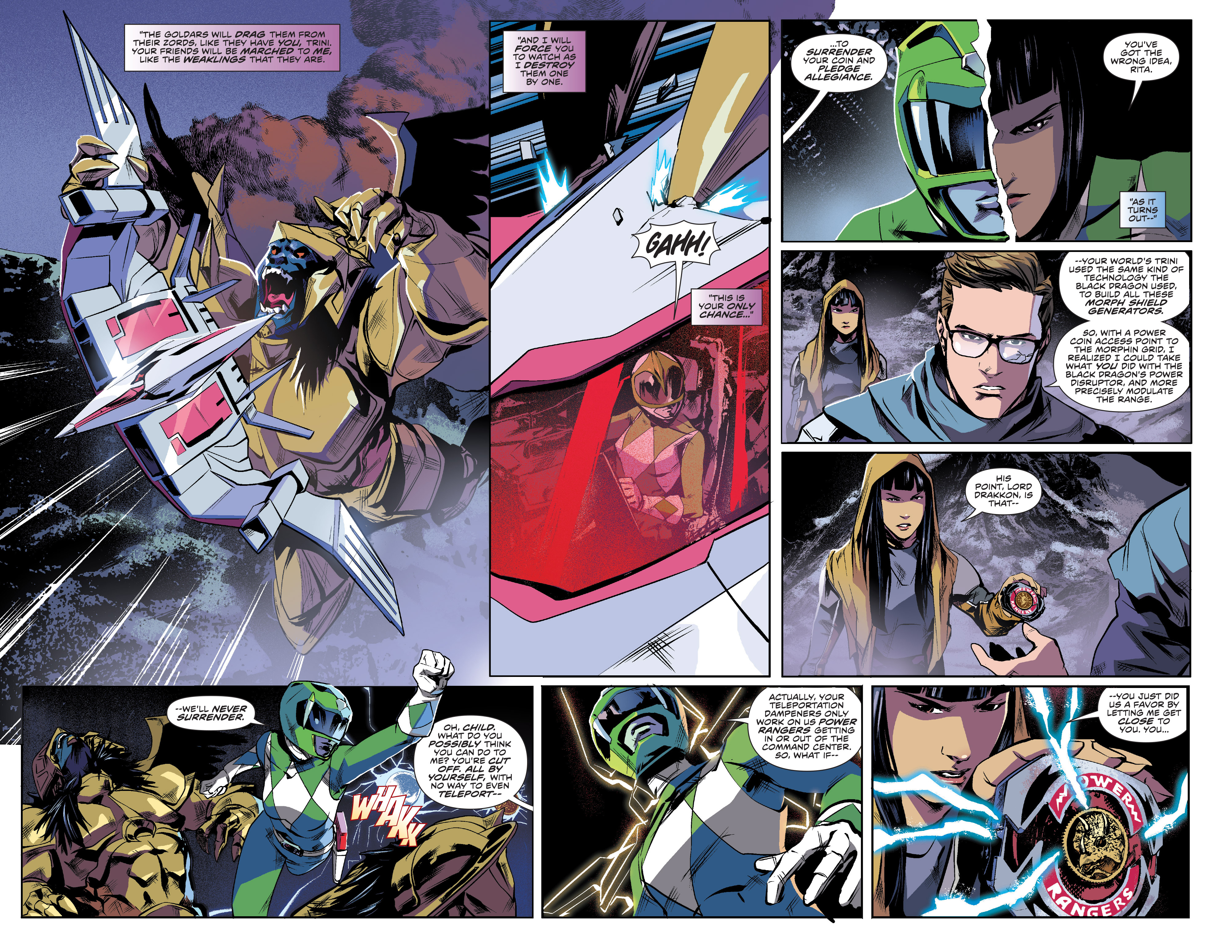 Read online Mighty Morphin Power Rangers comic -  Issue #16 - 4