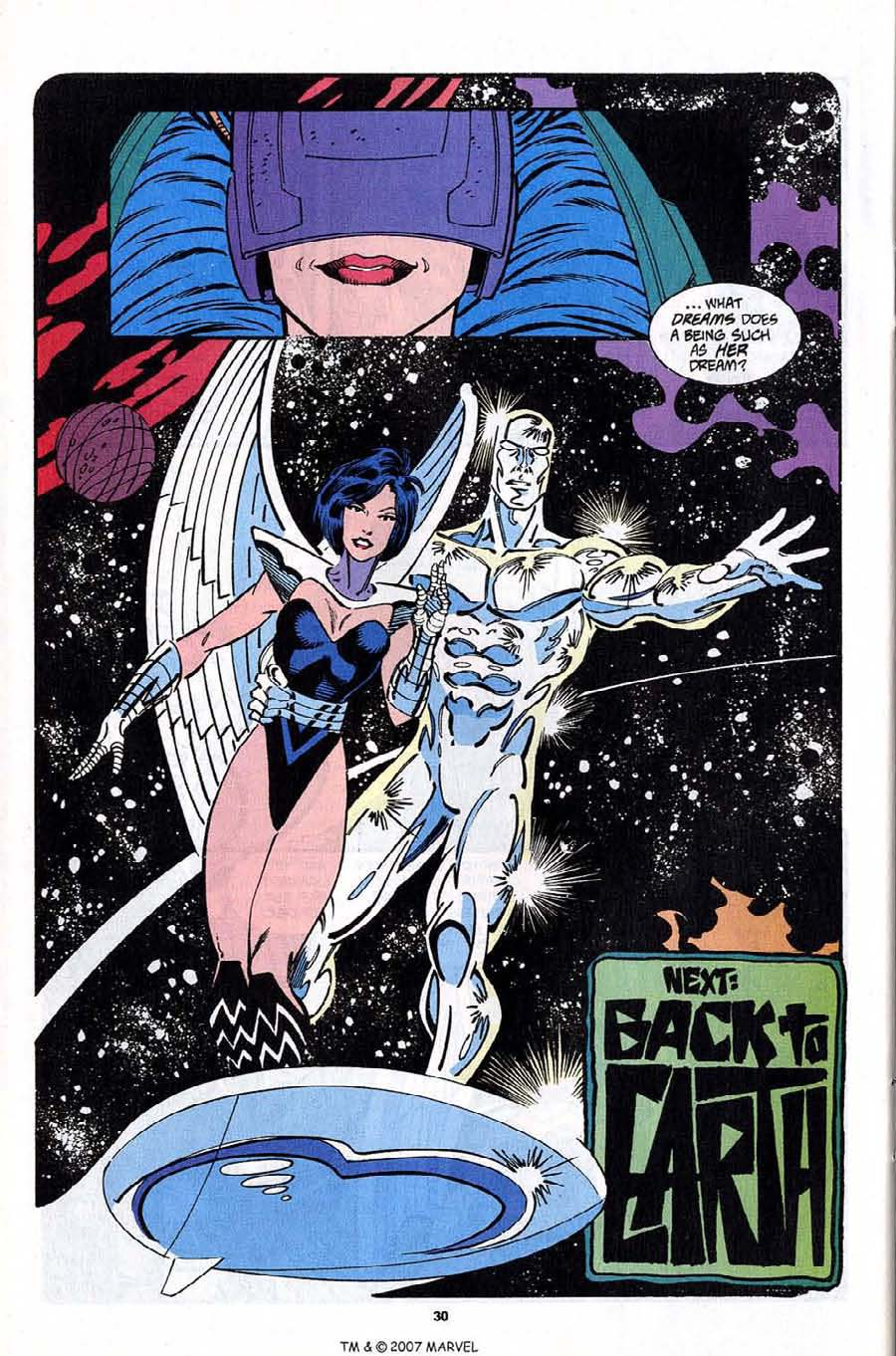 Read online Silver Surfer (1987) comic -  Issue #92 - 32