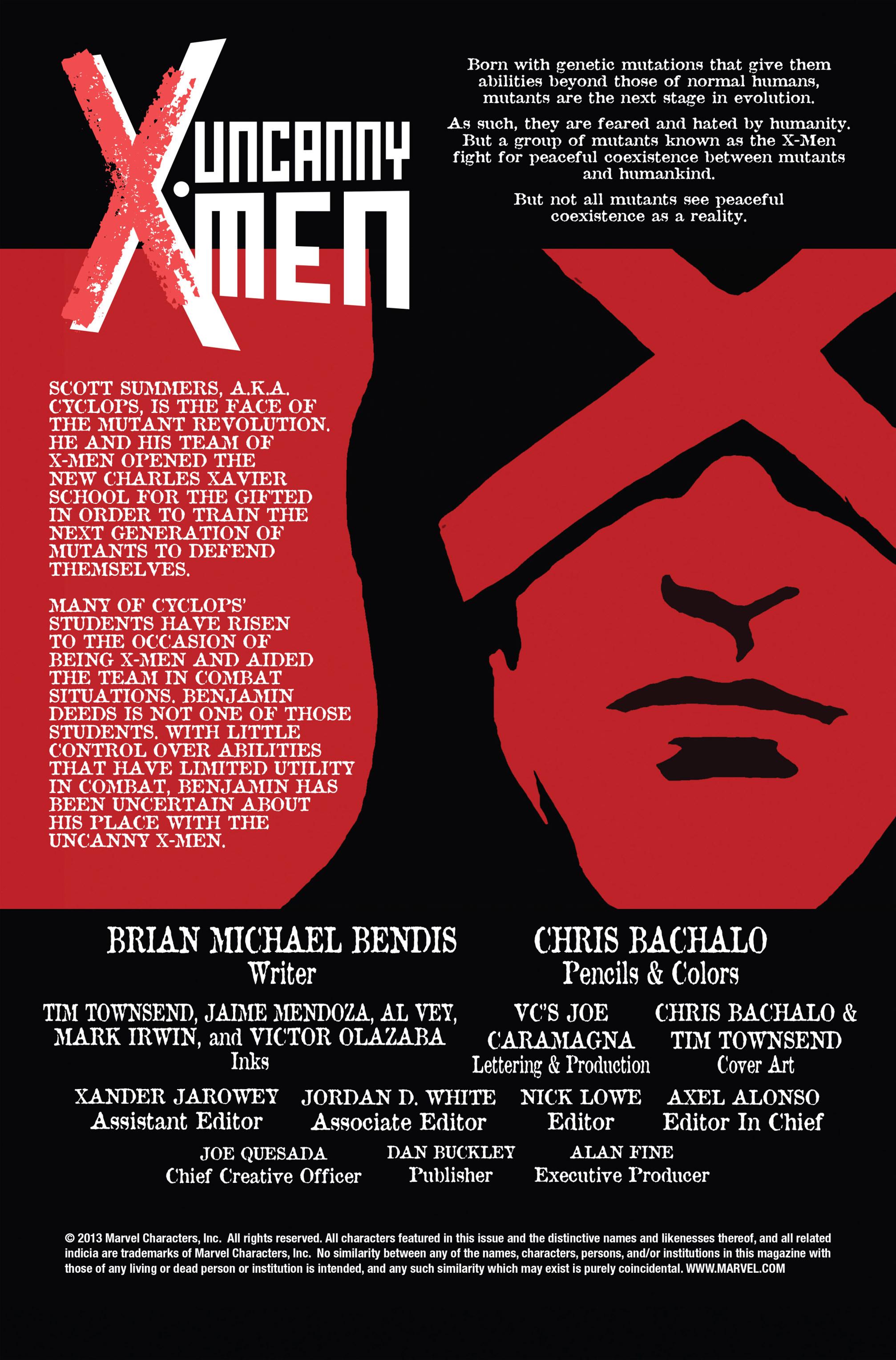 Read online Uncanny X-Men (2013) comic -  Issue #14 - 2