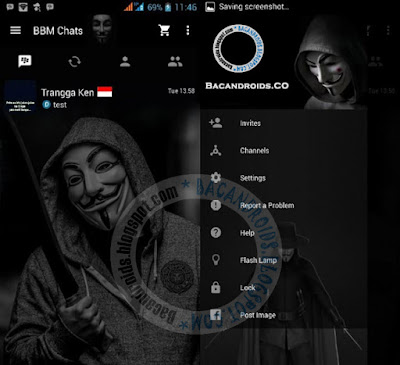 Download BBM2 Mod Anonymous Clone Apk Terbaru 3.0.0.18