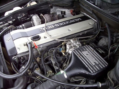w124 engine turbo