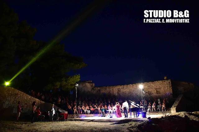 Έναρξη στο Ναύπλιο των εκδηλώσεων «Αύγουστος και Μνημεία» με τον βαρύτονο Νικόλαο Καραγκιαούρη