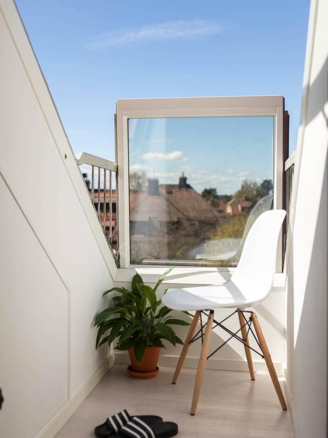 Silla Wood Chair de estilo eames.