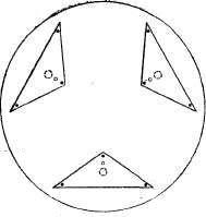 разгрузка главного зеркала на 9 точек