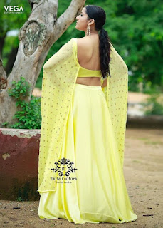 Telugu Television Actress Rashmi Gautam Latest Picture shoot In yellow dress (1)