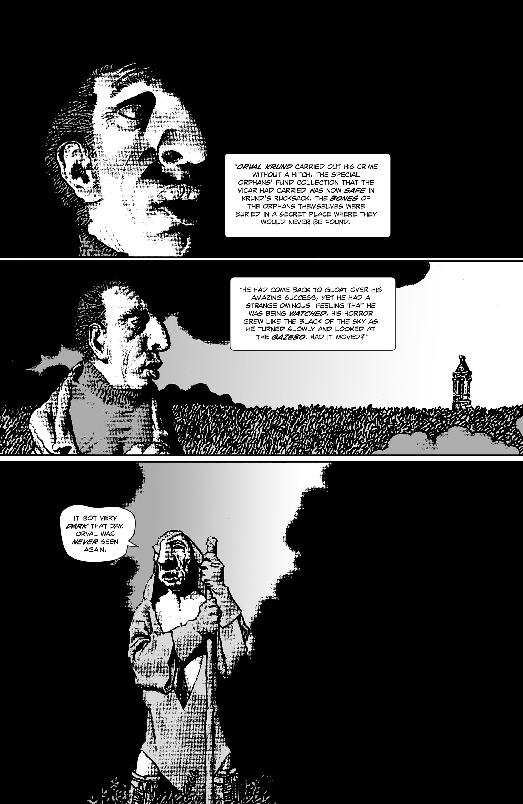 Read online Shadows on the Grave comic -  Issue #4 - 2
