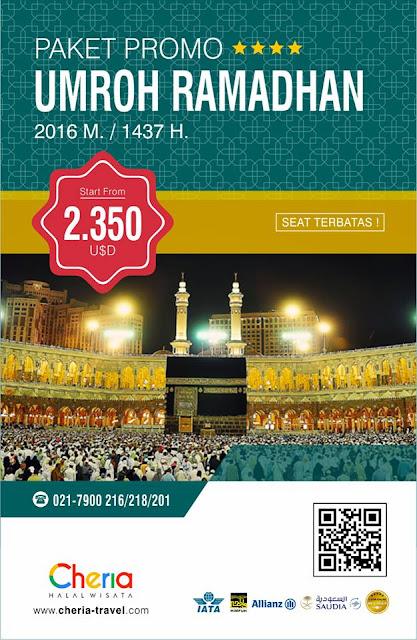 Paket Umroh Ramadhan Cheria